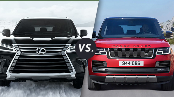 2020 Lexus Lx 570 Redesign Engine Specs >> Comparison 2020 Lexus Lx 570 Vs 2020 Land Rover Range